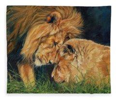 Lion  Love Fleece Blanket