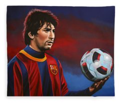 Lionel Messi 2 Fleece Blanket