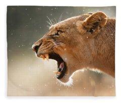 Wild Animals Fleece Blankets