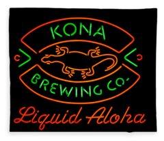 Liquid Aloha Fleece Blanket