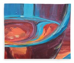 Liquid Sway Fleece Blanket