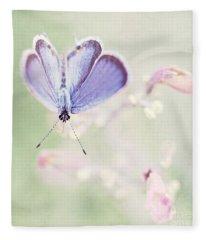 Little Blue Fleece Blanket