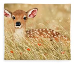 Little Fawn Fleece Blanket