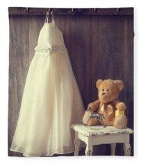 Little Girls Bedroom Fleece Blanket