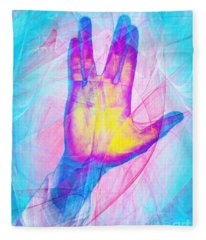 Live Long And Prosper 20150302v1 Fleece Blanket