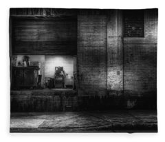 Loading Dock Fleece Blanket
