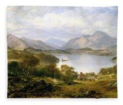 Loch Lomond, 1861 Fleece Blanket