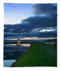 Lock House Fleece Blanket