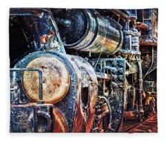 Locomotive Fleece Blanket