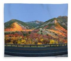 Logan Canyon Fleece Blanket
