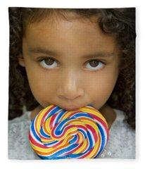 Lollipop Fleece Blanket