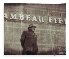 Lombardi At Lambeau Fleece Blanket