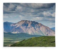 Lone Mountain Fleece Blanket