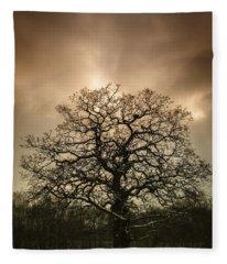 Lone Tree Fleece Blanket