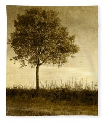 Lone Tree Fleece Blanket