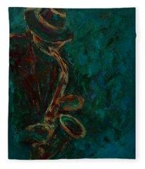 Lonely Jazz Fleece Blanket