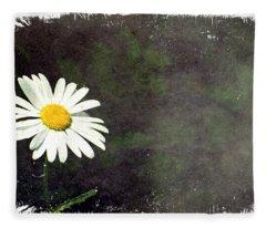 Lonesome Daisy Fleece Blanket