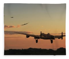 Long Night Ahead Fleece Blanket