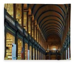 Long Room Fleece Blanket