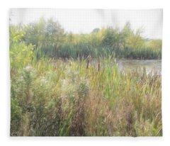 Long Run Meadow  Fleece Blanket