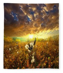 Longing To Return Fleece Blanket