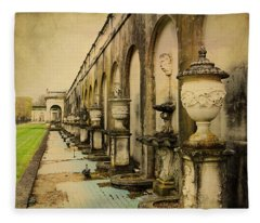 Longwood Gardens Fountains Fleece Blanket