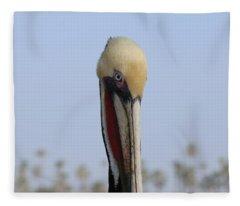 Look Into My Eye  Fleece Blanket