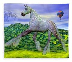 Looking For Dorothy Fleece Blanket