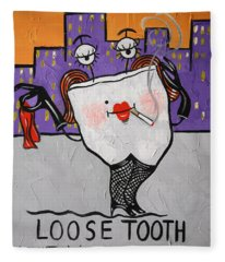 Loose Tooth Fleece Blanket