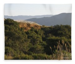 Los Laureles Ridgeline Fleece Blanket