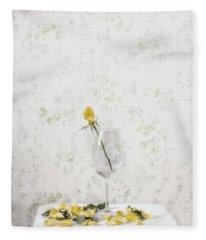 Lost Petals Fleece Blanket