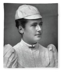 Lottie Dod (1871-1960) Fleece Blanket