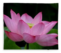 Lotus-center Of Being IIi Dl033 Fleece Blanket
