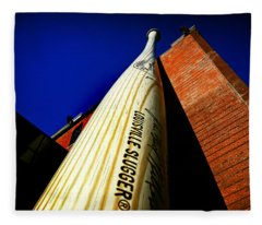 Louisville Slugger Bat Factory Museum Fleece Blanket