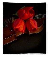Love And Romance Fleece Blanket