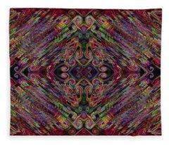 Love Centered In The Reach Fleece Blanket