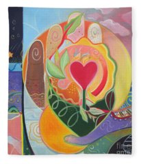 Love Is Love Fleece Blanket