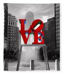 Love Photographs Fleece Blankets