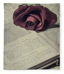 Love Stories Fleece Blanket
