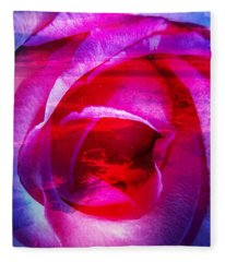 Love Story Fleece Blanket
