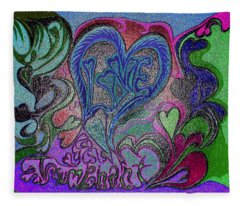Love Triumphant 1of3 V7 Fleece Blanket