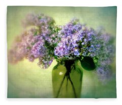 Lovely Lilac  Fleece Blanket