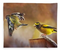 Lovers Quarrel Fleece Blanket