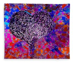 Love's Abyss And All About This Fleece Blanket