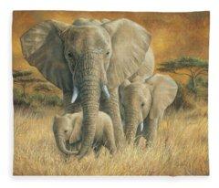 Loving Mother Fleece Blanket