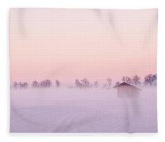 Low Fog Fleece Blanket