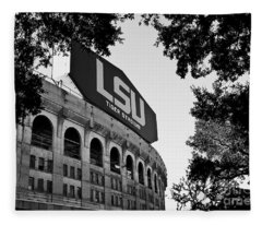 Lsu Through The Oaks Fleece Blanket