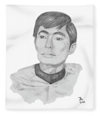Lt. Sulu Fleece Blanket