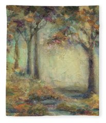 Luminous Landscape Fleece Blanket