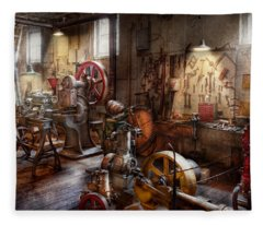 Machinist - A Room Full Of Memories  Fleece Blanket
